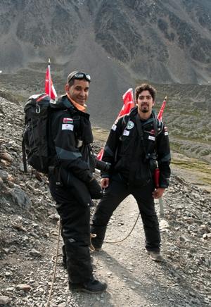 Ameer Abdul Hussain  & Bader Al Lawati
